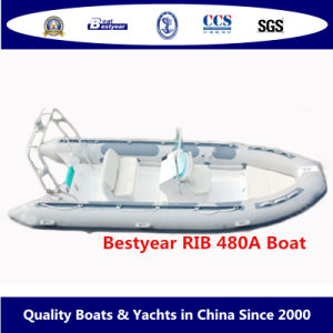 Rigid Inflatable Boat of Rib480A pictures & photos