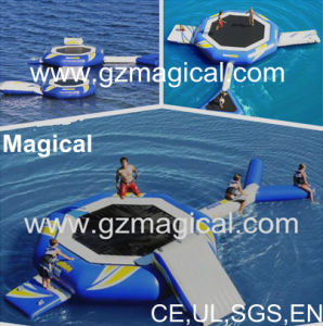 High Quality Inflatable Sea Doo Water Trampoline Inflatable Water Trampoline Combo (RA-059) pictures & photos