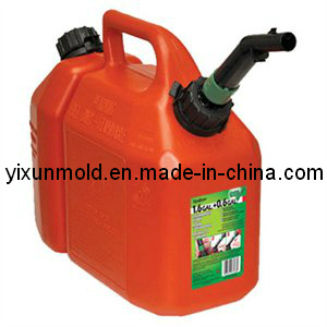 Plastic Chain Saw Gas & Oil Can Injection Mould pictures & photos