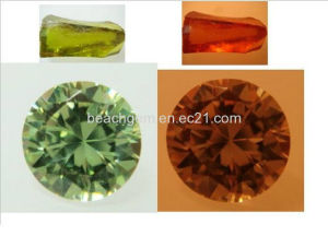 Gemstone-Color Change Cubic Zirconia