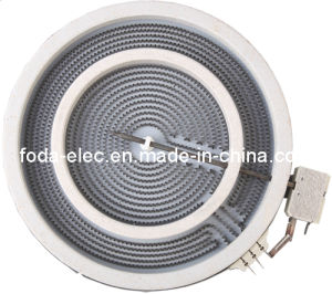 Duble Coil/Circle Ceramic/Infrared Radiant Heating Element