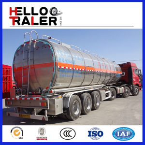 High Quality Low Price 56.2cbm Tri-Axle LPG Storage Tank Trailer pictures & photos
