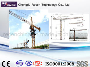 Tower Crane Qtz10 with Good Quality pictures & photos