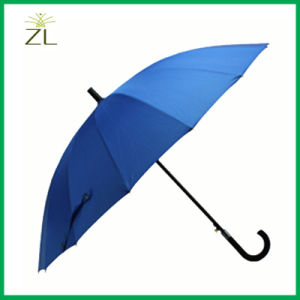 190t Pongee Fabric Material and Umbrellas Type Plain Golf Umbrella pictures & photos