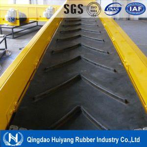 Chevron /Diamond Patterned Belt Conveyor Conveyor Belts Conveyor Belting pictures & photos