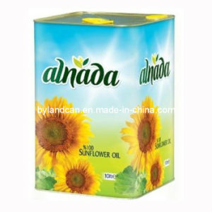 10 Liters Sunflower Oil Tin Can pictures & photos