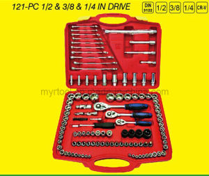 Hot Selling-120PCS Socket Wrench Combintaio Tiool Set (FY121B) pictures & photos