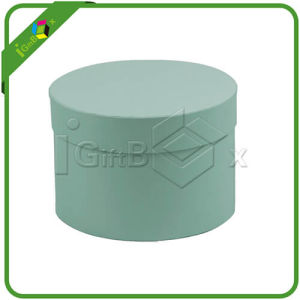Round Box / Round Gift Box with Ribbon for Flower pictures & photos