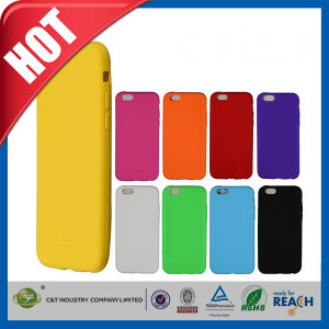 C&T New Arrival Soft Rubber Silicone Design for iPhone 6 Cover pictures & photos