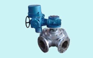 Flange Connection Four-Way Ball Valve