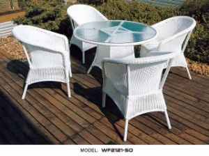Rattan Outdoor Furniture/ Dining Table (WF2121-50) - China Rattan