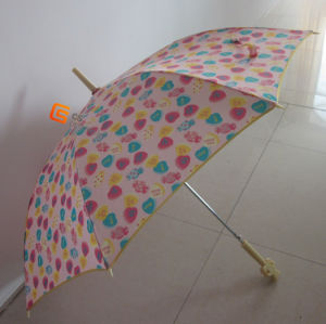 23*8k Straight Umbrella Auto Open with Fiberglass Ribs (YSS0001) pictures & photos