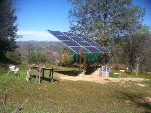 Ground Pole Mount for Solar Panels System pictures & photos
