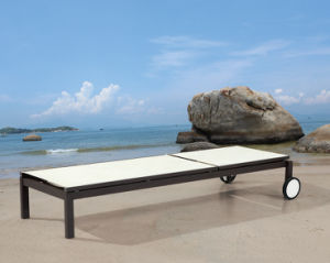 Garden Textilene Chaise Lounge for Outdoor Furniture (TG-812) pictures & photos
