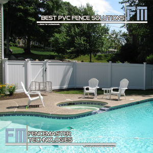 PVC Pool Fence pictures & photos