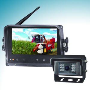 Wireless Rear View System with 7 Inch Wireless Color LCD Monitor (WM-121, WC-639)