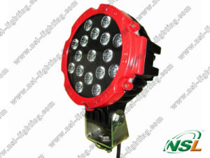 Auto LED Work Light 51W for Car Fog Machine Boat Lights for Fishing pictures & photos