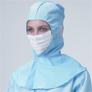 ESD Garment Shanghai Lingtech Face Open Cleanroom Hood pictures & photos