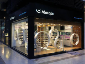 Wooden Veneer Sunglass Display Stand pictures & photos