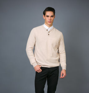 Men′ S Fashion Cashmere Sweater 17brpv126 pictures & photos