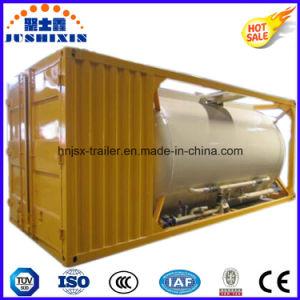 40FT 20FT 22.5cbm ISO Powder Tank Container 20FT Bulk Container/Bulk Coal Tank Container pictures & photos