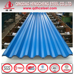 Prepainted Corrugated Plate Gi Color Roofing Sheet pictures & photos