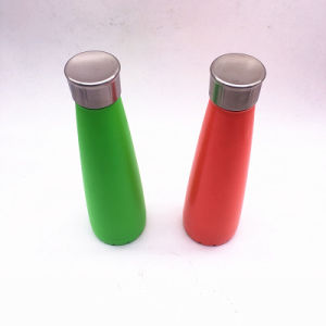 2017 New Double Wall Stainless Steel Drinking Water Bottle 450ml FDA Passed pictures & photos