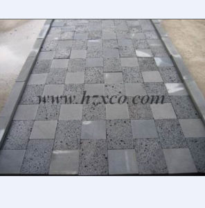 Basalt Tile Paving Stone Lava Stone Pavers pictures & photos