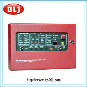 4 Zone Fire Fighting Panel for Alarm System (BLJ-CM1004)