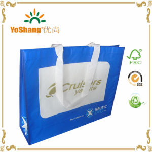 Non Woven Custom Printing Glossy Laminated Tote Bag Wholesale pictures & photos