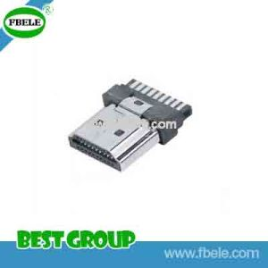 Fbhdmi1-102 HDMI-a/Type/Pulg/Solder/for Cable Ass′y Mini USB Connector pictures & photos