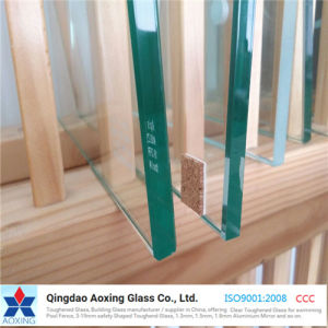 3/4/5/6/8/10/12mm Clear Float Toughened Glass Tempered Glass with Round Edge pictures & photos