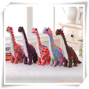 Cotton Farbric Dinosaur Toys in China-Wind Style for Promotion Gift pictures & photos