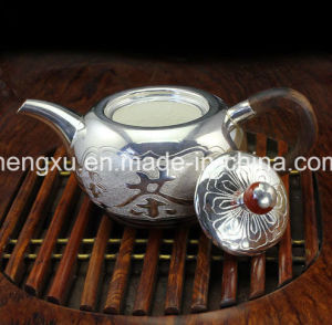 Chinese Popular Silver Using & Artwork Drinking Tea-Pot SX-S1 pictures & photos