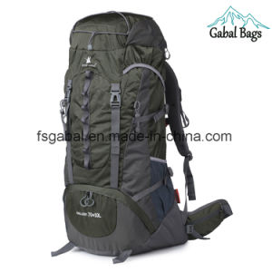 Top Outdoor Mountain Gear Waterproof Hiking Bag Camping Travel Backpack pictures & photos