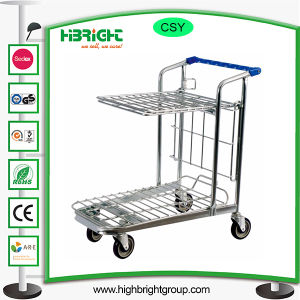 Warehouse Foldable Storage Hand Shopping Trolley pictures & photos