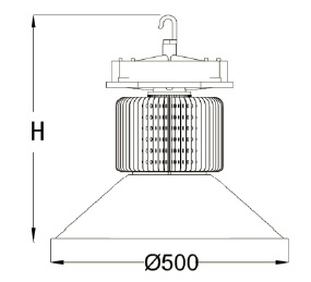200W High Energy LED Highbay Light for Industrial/Factory/Warehouse Lighting (SLS405) pictures & photos
