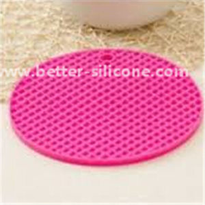 Personalized Colorful Silicon Pot Mat pictures & photos