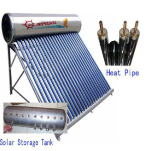 200L Stainless Steel Pressurized Solar Energy Water Heater pictures & photos