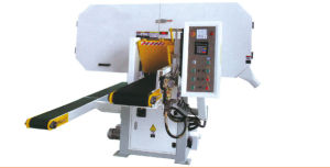 Horizontal Type Rotating Blade Band Saw Machine for Furniture pictures & photos
