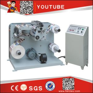Fq-320 Automatic Paper and Plastic Label Sltting and Rewinder Machine pictures & photos