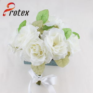 2015 New Arrival Artificial Flower Bridal Wedding Bouquet Holder pictures & photos