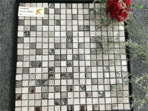 Mable Tile Mix Metal and Glass Mosaic Tile pictures & photos