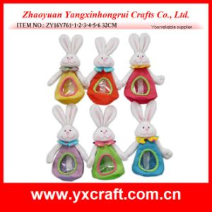 Easter Decoration (ZY16Y761-1-2-3-4-5-6) Colorful Easter Candy Bag Rabbit OEM Factory pictures & photos