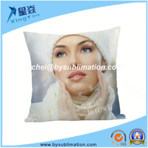 Best Selling Blank Suede Cushion Cover pictures & photos