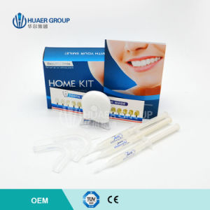 Free Peroxide Home Teeth Whitening Kit with LED Whitening Light pictures & photos