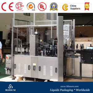 High Speed Glue Melt Bottle Labeling Machine pictures & photos