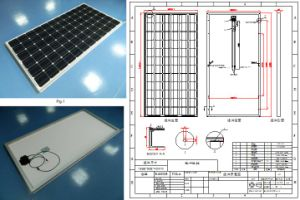 36V 290W 295W 300W Monocrystalline Solar Panel PV Module with Ce Approved pictures & photos
