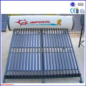 Household Low Pressure Solar Water Heating System pictures & photos
