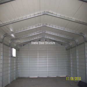Prefab Metal Structure Construction Garage pictures & photos